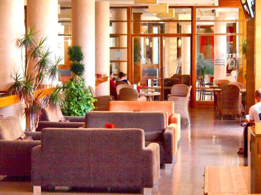 cafetería Hotel Costa Narejos