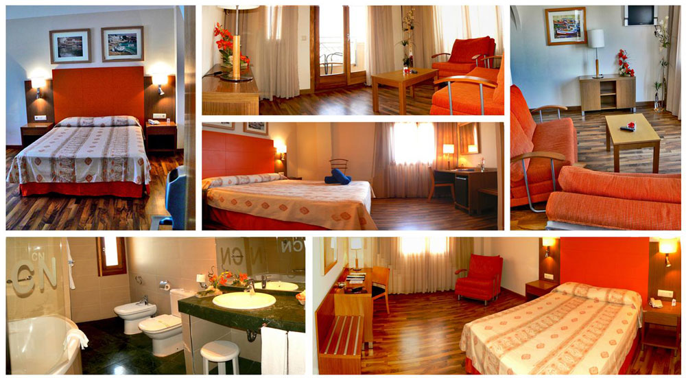 habitación junior suite Hotel Costa Narejos. Mar Menor, Los Narejos. Murcia.