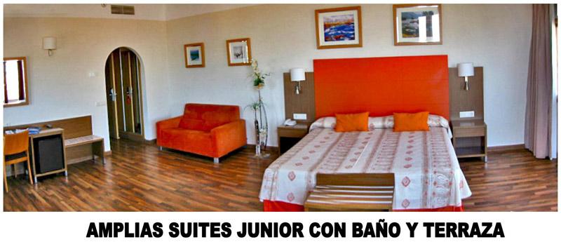 Baño Adaptado Minusvalidos Normativa:Hotel Costa Narejos Las Habitaciones del Hotel Costa Narejos