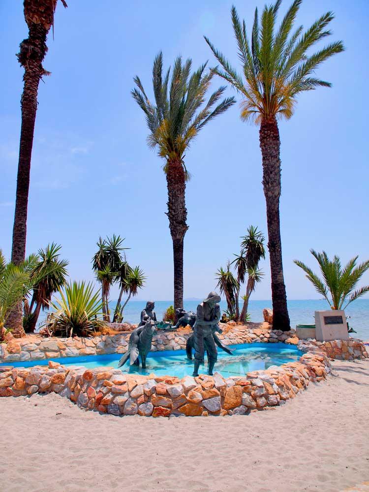 Playa del Hotel Costa Narejos