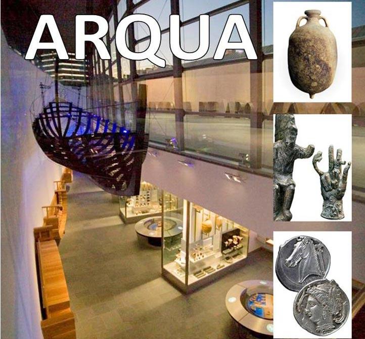 Hotel costa narejos arqua national museum for Spain underwater museum