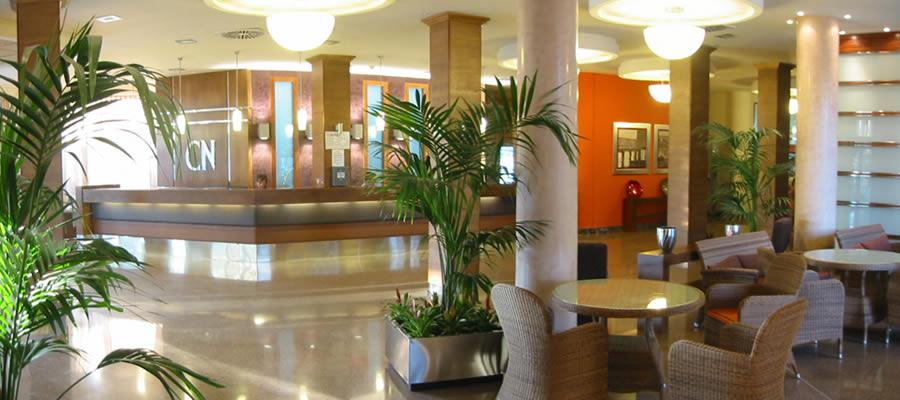 Hotel Costa Narejos. Recepción